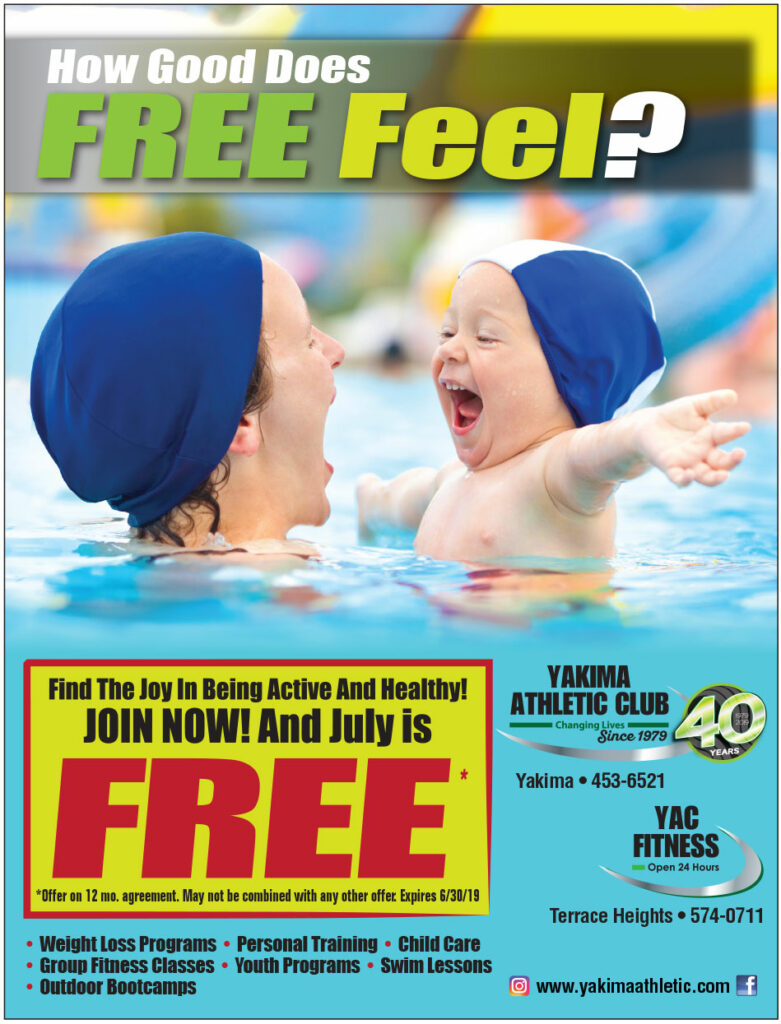 Yakima Athletic Club June Special